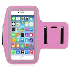 "Pink Premium Sports Armband Case Holder iPhone 6 4.7"" Gym Running Jogging"