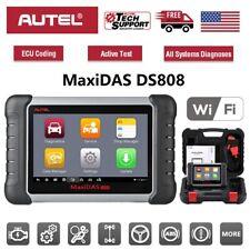 Autel MaxiDAS DS808 Car OBD2 II Diagnostic Scanner Tool ECU Coding Better DS708
