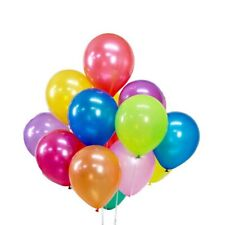 "10 to 100 Pack 10"" Latex Balloons for Parties Birthdays & Weddings - Party Stock"