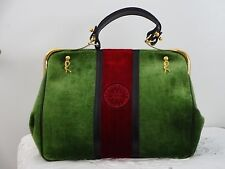 Italian designer handbag by roberto di Camerino one of its kind with certificate