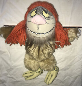 Vintage 1980's Where The Wild Things Are stuffed toy SIPI doll Maurice Sendak
