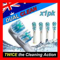 Dual Clean Oral B Compatible Electric Toothbrush Replacement Brush Heads x4pcs