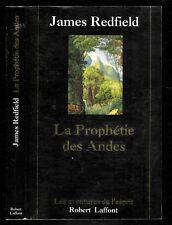 "James Redfield : La Prophétie des Andes "" Editions Robert Laffont """