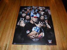 2017 WWE Superstars Poster 16 X 20  John Cena New Day Kevin Owens Undertaker