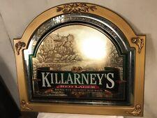 "Mirror 32""X28.5""Killarney Red Lager Bar Mirror Perfect.C12pix4details.MAKE OFFER"