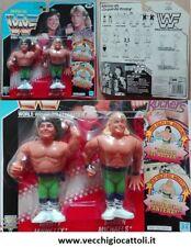 Hasbro WWF personaggi Wrestling Rockers Marty Jannetty e Shawn Michaels 1992 MOC
