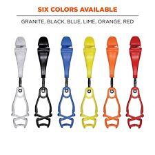 Ergodyne Squids 3420 Bulk Swiveling Glove Clip Holder Dual Clips Bulk100 Clips