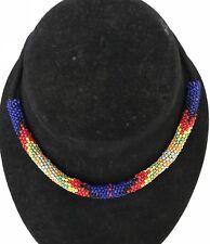 "NEW Beaded Native American Southwestern Handmade 14"" Choker Necklace PICK 1"