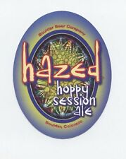 Hazed hoppy Session Ale CRAFT BEER STICKER DECAL Boulder Brewery