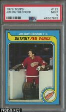 1979 Topps Hockey #122 Jim Rutherford Detroit Red Wings PSA 9 MINT