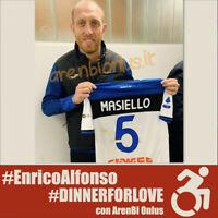 Atalanta Masiello maglia indossata v Brescia 2019 2020 match worn shirt UNWASHED