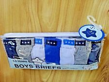 7 Pack Boys 100 Cotton Briefs Pants Underwear Br208 Age 7-8 Years
