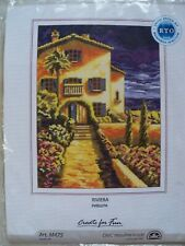 Riviera Coastal Design RTO Counted Cross Stitch Craft Kit New Unopened