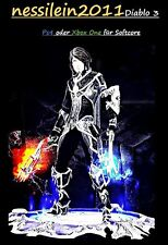 Diablo3 Ps4/Xbox One - Dämonenjäger - Des Schattens Mantelung - URALT - Unmodded