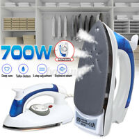 Mini Foldable Electric Steam Iron Garment Steamers Flatiron Home/Travel 3  !!