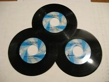 The Poppy Family/ Lot Of three 45s/ Canada/ London/ Two promos