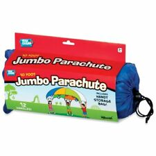 10- Ft Jumbo Parachute for Outdoor/Indoor Fun Toys by Toysmith