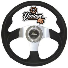 Vintage Warehouse Classic Retro Motorsport Style 340mm Steering Wheel & Horn SVR