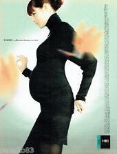 PUBLICITE ADVERTISING 016  2003  Daniel Boudon  Formes  vetements grossesse