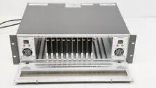 Evertz 7700FR-C w/ (10) 7700DA-AESU AES/EBU Distribution Amplifier DA + 2PS