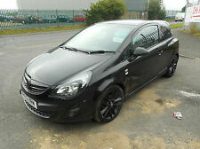 VAUXHALL CORSA LIMITED EDITION 3 DOOR MANUAL PETROL 13 PLATE