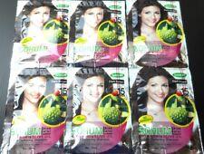 6x20ml Sohum dye hair dark brown noni natural herbal shampoo color no ammonia