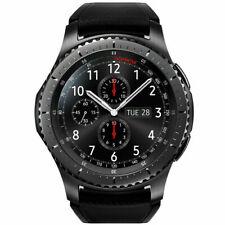 NUEVO Samsung SM-R760 Gear S3 frontera De Acero Inoxidable Reloj inteligente