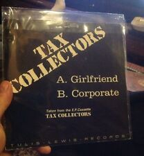 Vinyl TAX COLLECTORS Tulis Lewis Records 45in Single A. Girlfriend B. Corporate