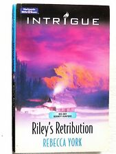 Riley's Retribution by Rebecca York (Paperback, 2006) Mills & Boon Intrigue