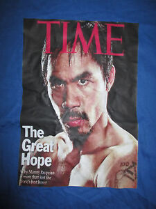 "MANNY PACQUIAO ""PAC MAN"" The Great Hope (MED) T-Shirt"