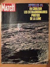 Paris Match du 27 Fevrier 1971 Apollo 14 Photos en couleur de la Lune
