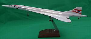 LED Light 50cm Concorde British Airways BA UK Airlines Aeroplane Plane Metal