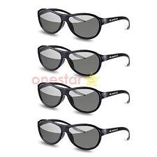 4pcs AG-F310 3D Glasses Polarized Passive Glasses For LG TCL Samsung SONY Konka