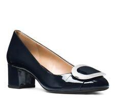 3359783ccdc Womens Shoes Michael Kors Pauline Flex Mid Heel Pump Navy Patent Size 7