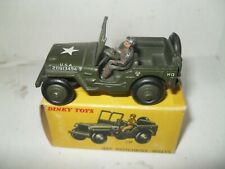 FRENCH DINKY No 816 HOTCHKISS WILLYS JEEP VIRT MINT IN FAIR CARDED BOX