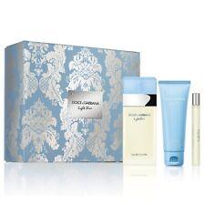 Dolce and Gabbana Light Blue 3-Piece Set Perfume For Women (Hard Box)