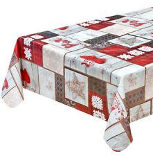 Tischdecke Weihnachten Dekorationen Antiflecken Weich Hearts Shabby Chic