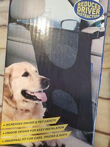 GOODYEAR Pet Net Barrier Between Car Seats 2 Layers  Black