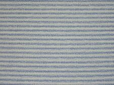 ROBERT ALLEN MARINE STRIPE MARITIME BLUE DRAPERY JACQUARD FABRIC BY THE YARD