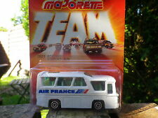 MAJORETTE TEAM MINI BUS AIR FRANCE 1/87 vitre fumé Neuf blister scellée