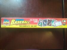 1991 TOPPS COMPLETE MICRO SET BASEBALL 792 PICTURE CARDS