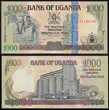 UGANDA 1000 SHILLINGS (P43b) 2009 UNC