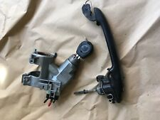 SEAT IBIZA 99-02 5DOOR DRIVERS DOOR LOCK & IGNITION 1 X KEY GOOD CONDITION