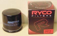 RYCO RMZ119 Oil Filter for Yamaha Honda Kawasaki Suzuki Bimota Agusta Triumph