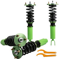 Height Adj. Racing Coilover Kits For Honda Accord 90-97 Shock Absorbers Struts