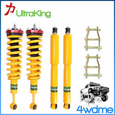 "Toyota Hilux KUN26 4WD Shocks + KING Coil Springs 3"" Front 2"" Rear  HD Lift Kit"