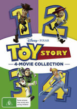 Toy Story 4 Movie Collection Quadrilogy 1 2 3 4 BRAND NEW Region 4 DVD GENUINE