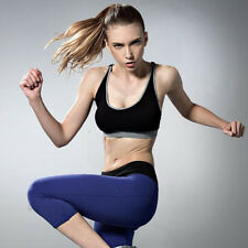 Women Sports Bra Padded Seamless Bra Gym Yoga Fitness Vest Training Activewear