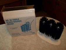 SPARTA TRIPLE BRUSH GLASS WASHER - CARLISLE COMMERCIAL NEW