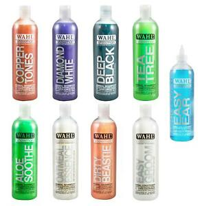 Wahl Animal Shampoo Conditioner & Ear Cleanser 500ml Comes In Various Type